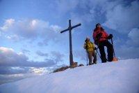 Schneeschuhtour zum Gipfel