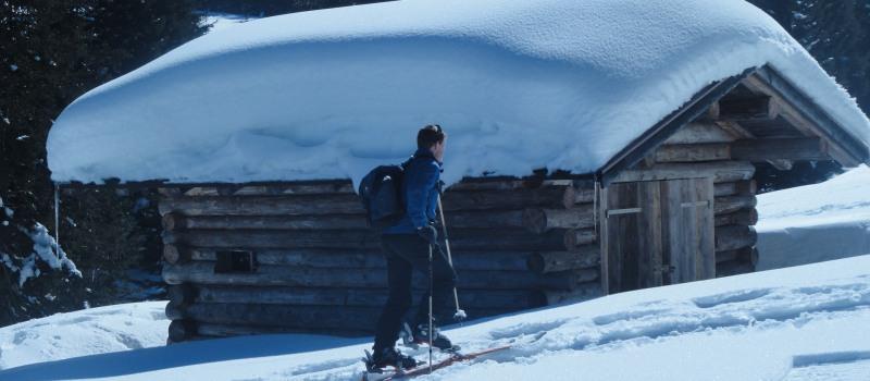 ...unterwegs auf Skitour