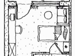 Landhaus Einzelzimmer Süd