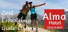 Alma Hotel Oberstdorf - Zeit Erholung Gute Laune