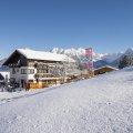 Alpe Oberstdorf mitten im Skigebiet