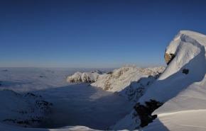 Nebelhorngipfel Winter