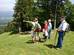 Wandern mit Gsten