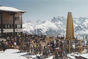 Bergrestaurant an der Fellhorn-Mittelstation