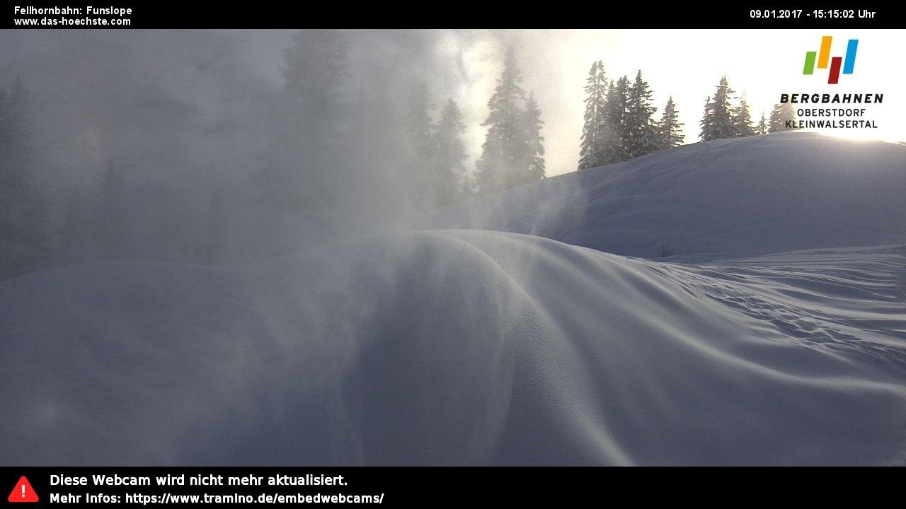 Webcam Fellhorn-Funslope