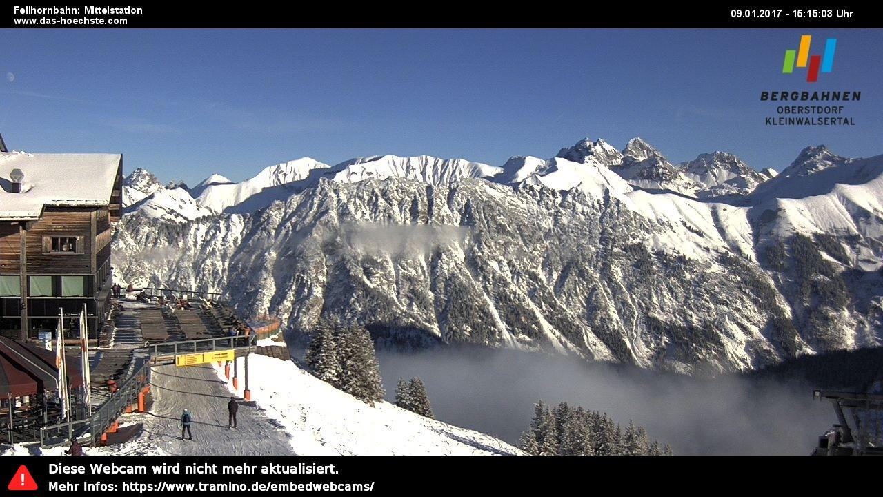 Oberstdorf, Ski resort Live Cam, Austria