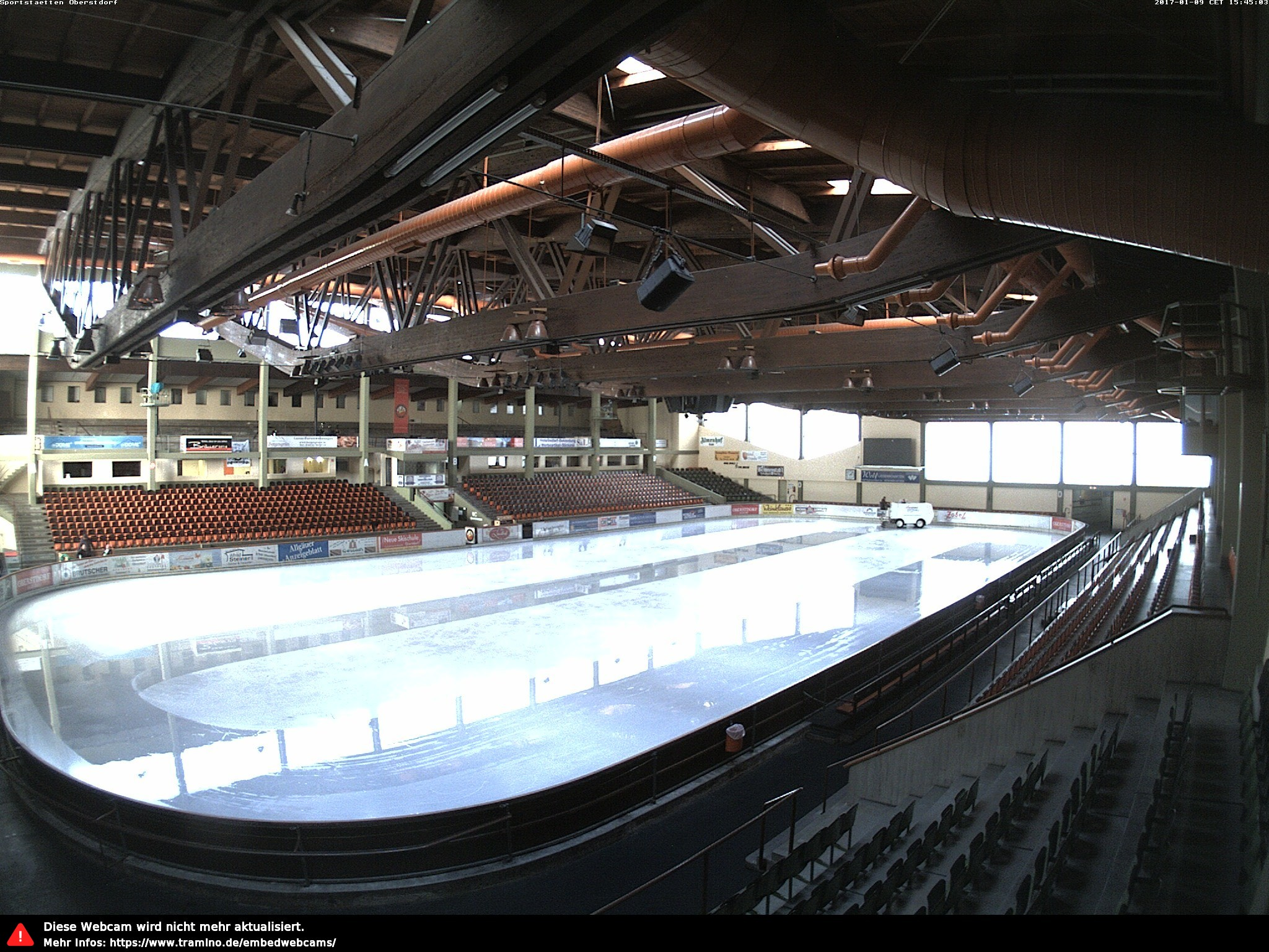 Webcam Eissportzentrum Oberstdorf