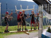 Teamwippe im Skywalk-Park