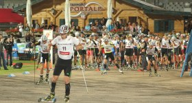 Start Rollerskilauf Sommer Grand Prix