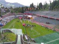 Stadion während der Schanzengaudi