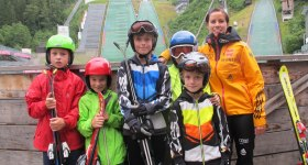 Kids Skisprung Camp 2014