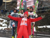 Eddie the eagle bei der Vierschanzentournee