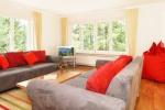 Wohnzimmer in Franks Ferienvilla