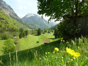Sommer im Golfclub Oberstdorf
