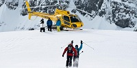 Heli-Skiing mit Last Frontier