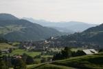 Panoramaaussicht auf Oberstaufen
