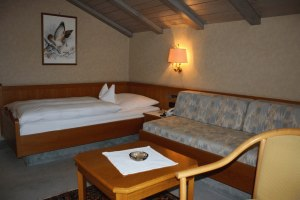 Einzelzimmer im Hotel Gasthof Adler