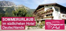 Das südlichste Hotel Deutschlands