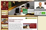 Webseite des Hotel Edelweiß