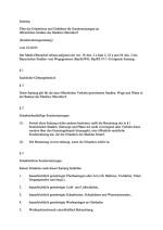 Erlaubnis und Gebühren für Sondernutzungen an öffentlichen Straßen (Sondernutzungssatzung) vom 22.04.1993