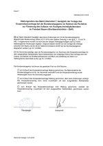 Stellungnahme Kooperationsvertrag