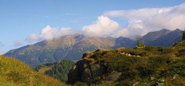 E5 von Bozen nach Trient - Bergpanorama