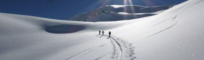 5.Tag - Gleich ist der Gipfel des Mot Falain geschafft