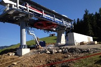 Neubau Bergstation Hündle
