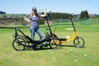 ElliptoGO meets Golf im Hotel Adler