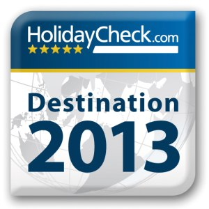 Holiday Check Destination Award 2013
