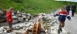 Auf dem Erlebnispfad Brumiwasser gibt es viel zu entdecken
