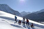 Winter hiking paradise Oberstdorf