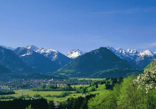 Oberstdorf im Sommer