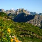 Blick auf die Höfats vom Nebelhorn