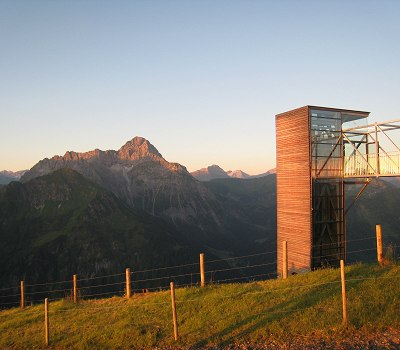 Sonnenaufgangsstimmung am Walmendinger Horn