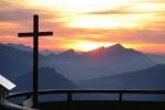 Herrliches Abendrot über dem Oberstdorfer Talkessel und Hochifen nach einer schönnen Tour über den Hindelanger Klettersteig Alo
