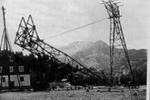 Bau der Nebelhornbahn