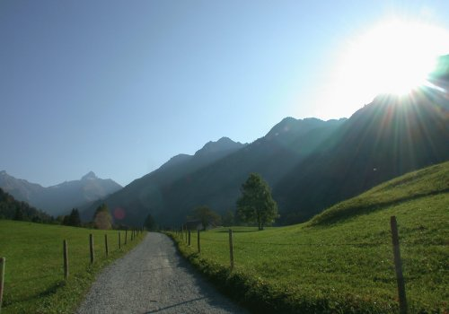 Weg am Dietersberg