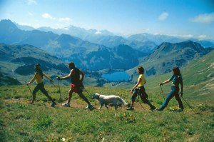 Nordic Walking am Nebelhorn