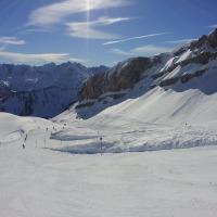 Skifahren am Ifen