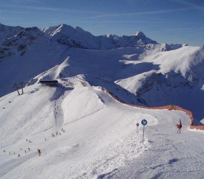 Fellhorn/Kanzelwand am 21. Januar 09