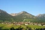 Blick vom Jauchenkreuz auf Oberstdorf