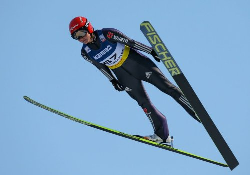Olympiasiegerin Carina Vogt