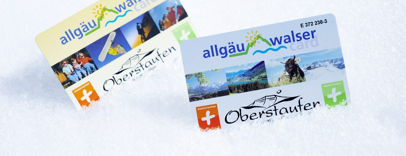 Geschenkte Freizeit mit der Gstekarte Oberstaufen PLUS.