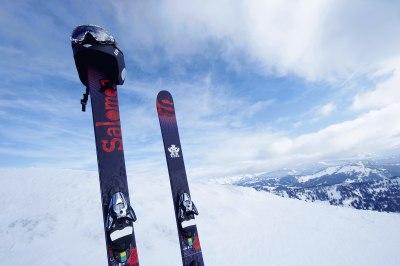 Bretterreich - in Oberstaufen fühlen sich Wintersportler pudelwohl
