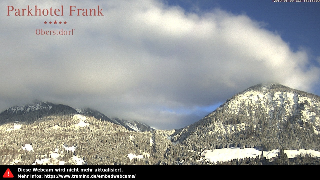 Webcam Parkhotel Frank