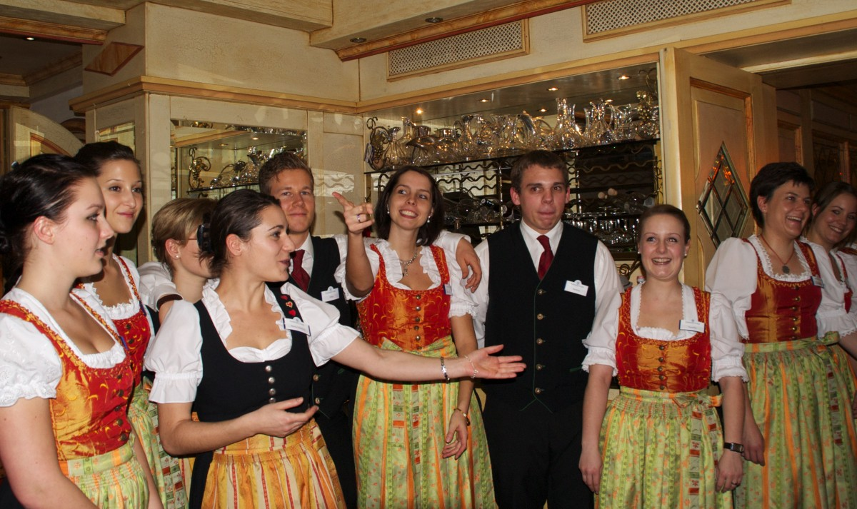 Das Service-Team des Parkhotel Frank