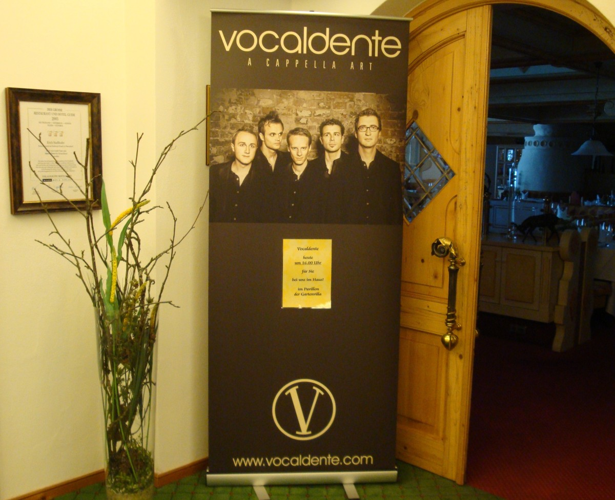 Welcome back in den Bergen - Vocaldente im Parkhotel Frank