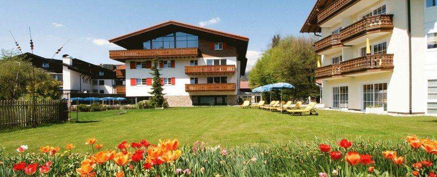Frhlingshaftes Parkhotel Frank in Oberstdorf