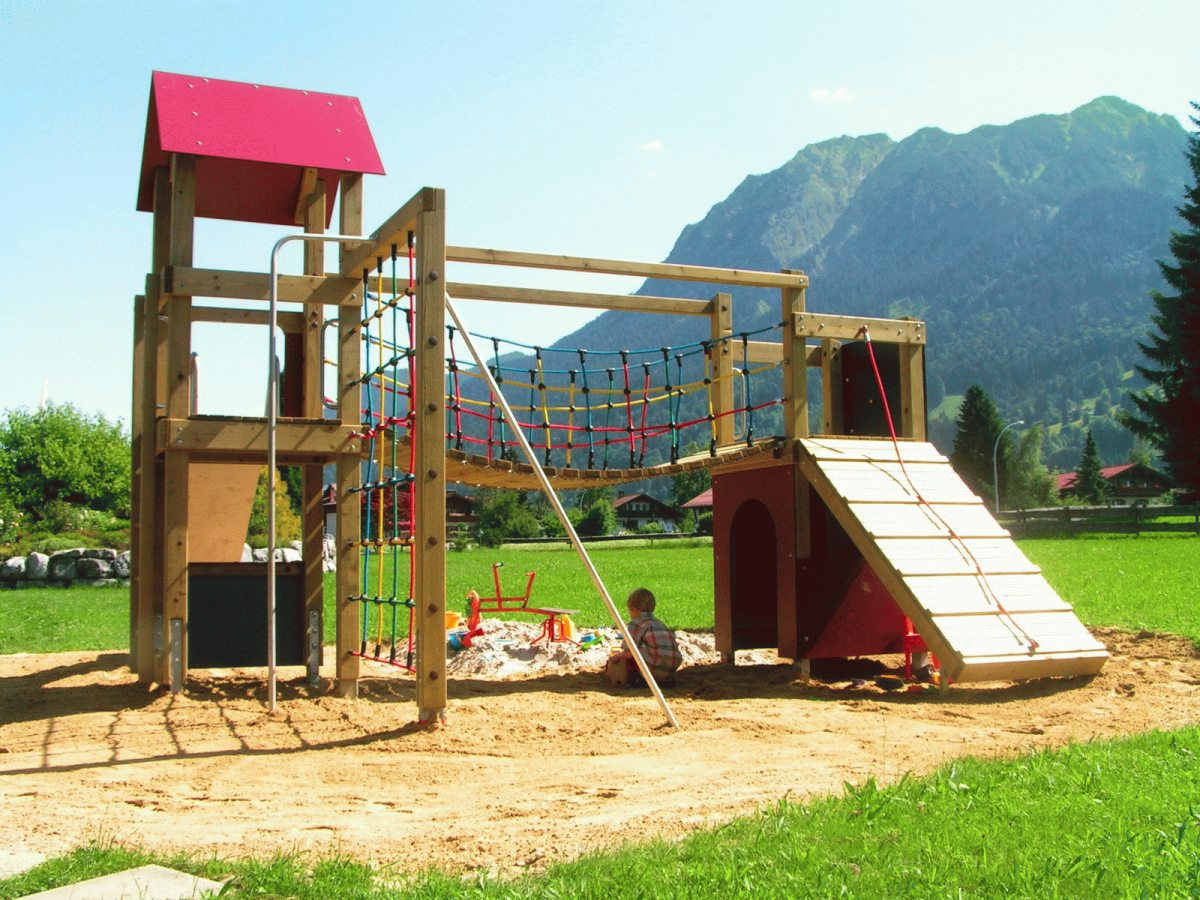 Spielplatz in Franks Garten